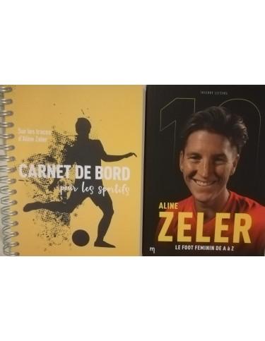 PACK Biographie Aline Zéler et Carnet de bord pour les sportifs