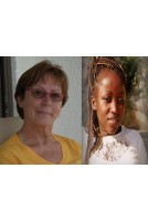 Louisa de Groot et Chantal-Iris Mukeshimana